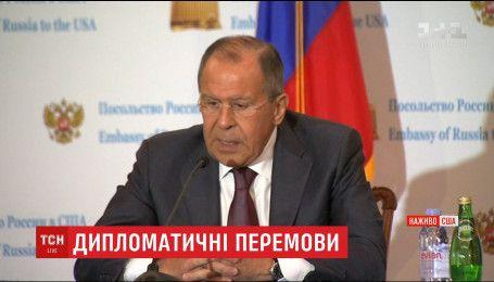Під час візиту до США Лавров обговорив із Трампом українське питання