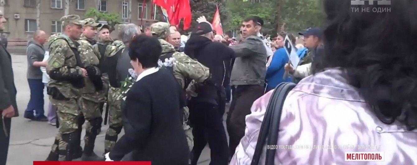 Керівника поліції Мелітополя відсторонили через події 9 травня