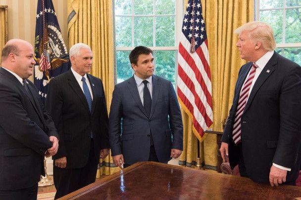 Трамп, Пенс и Климкин обсудили поддержку Украины США и ситуацию на Донбассе