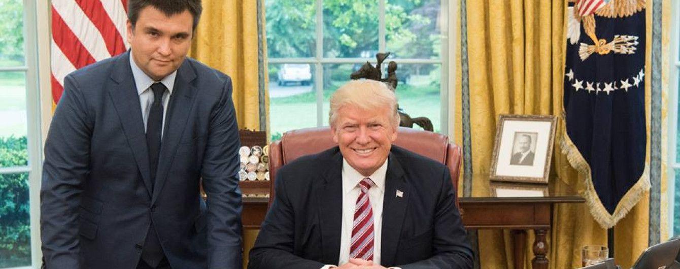 """""""Мы должны выдержать интригу"""": Климкин подтвердил согласование даты встречи Порошенко и Трампа"""