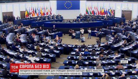 В Брюсселе должны согласовать очередные формальности для предоставления Украине безвиза