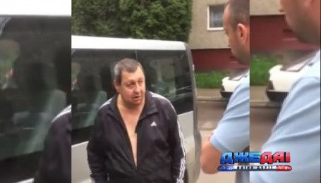 Львовский выпивоха разбил авто во дворе и обвинил во всем жену