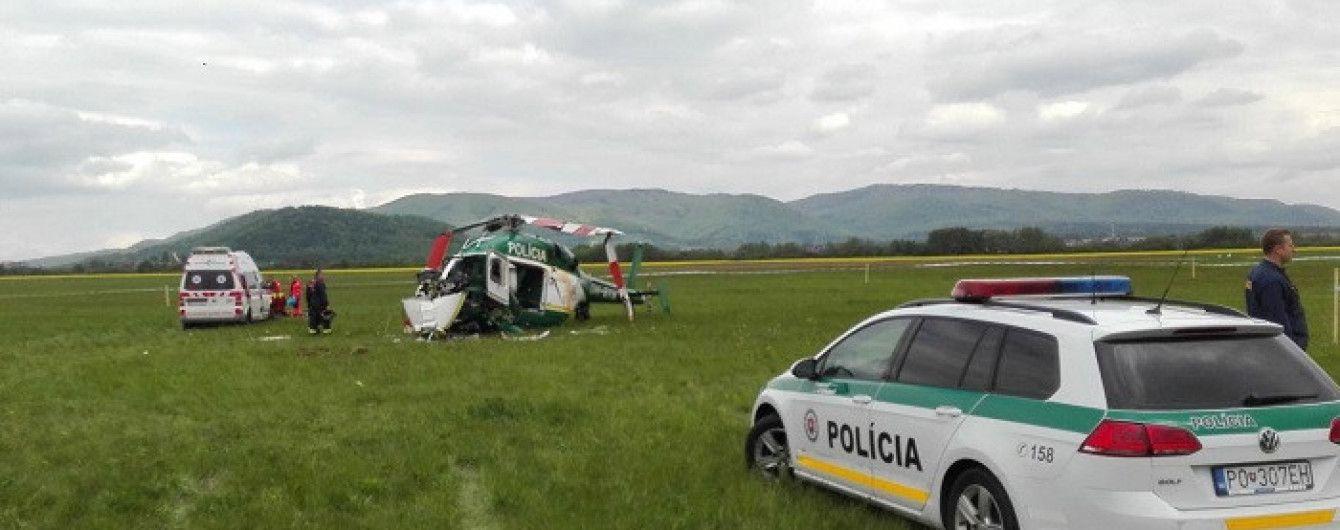У Словаччині розбився поліцейський вертоліт: двоє людей загинуло