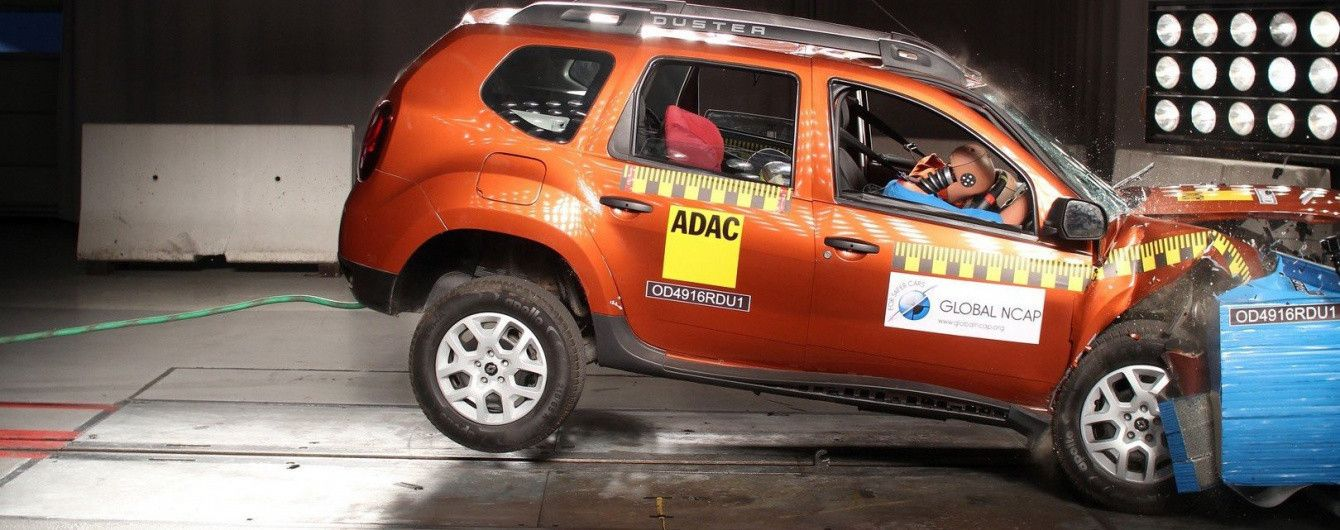 Renault Duster провалил индийский краш-тест