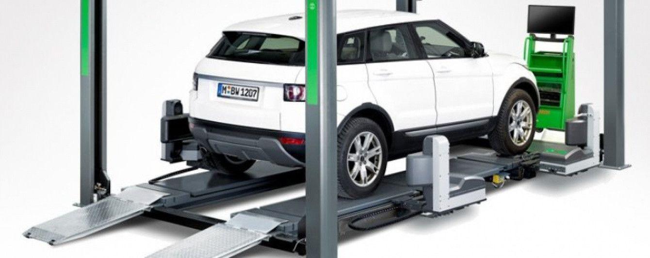 Bosch представил бесконтактный стенд регулировки углов установки колес