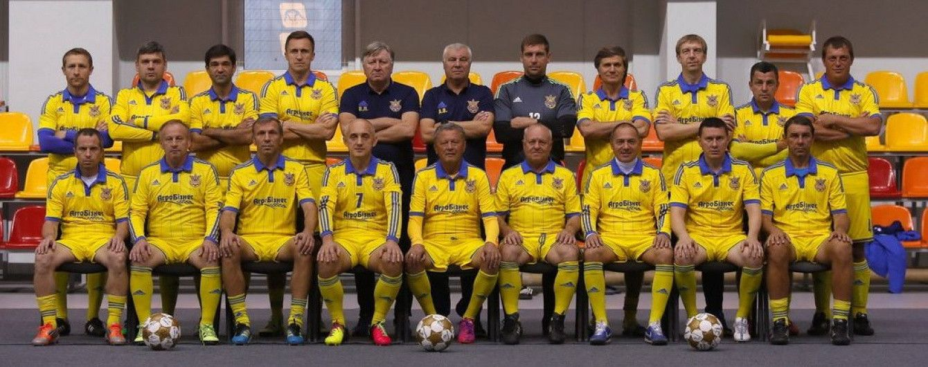 Ребров, Маркевич и Каладзе сыграют в товарищеском матче Украина - Грузия в Киеве