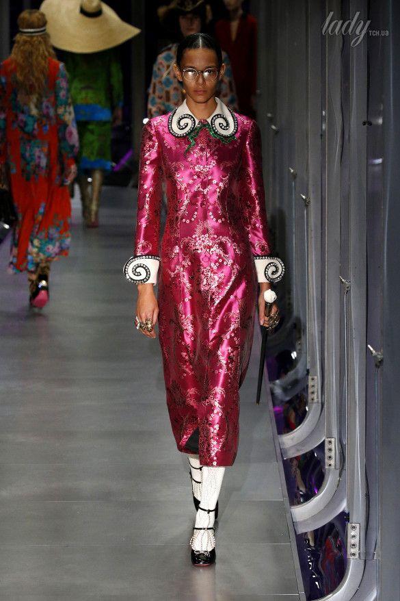Коллекция Gucci прет-а-порте сезона осень-зима 2017-2018