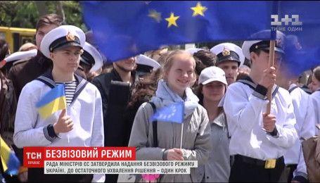 Совет ЕС поддержал открытую границу с Украиной