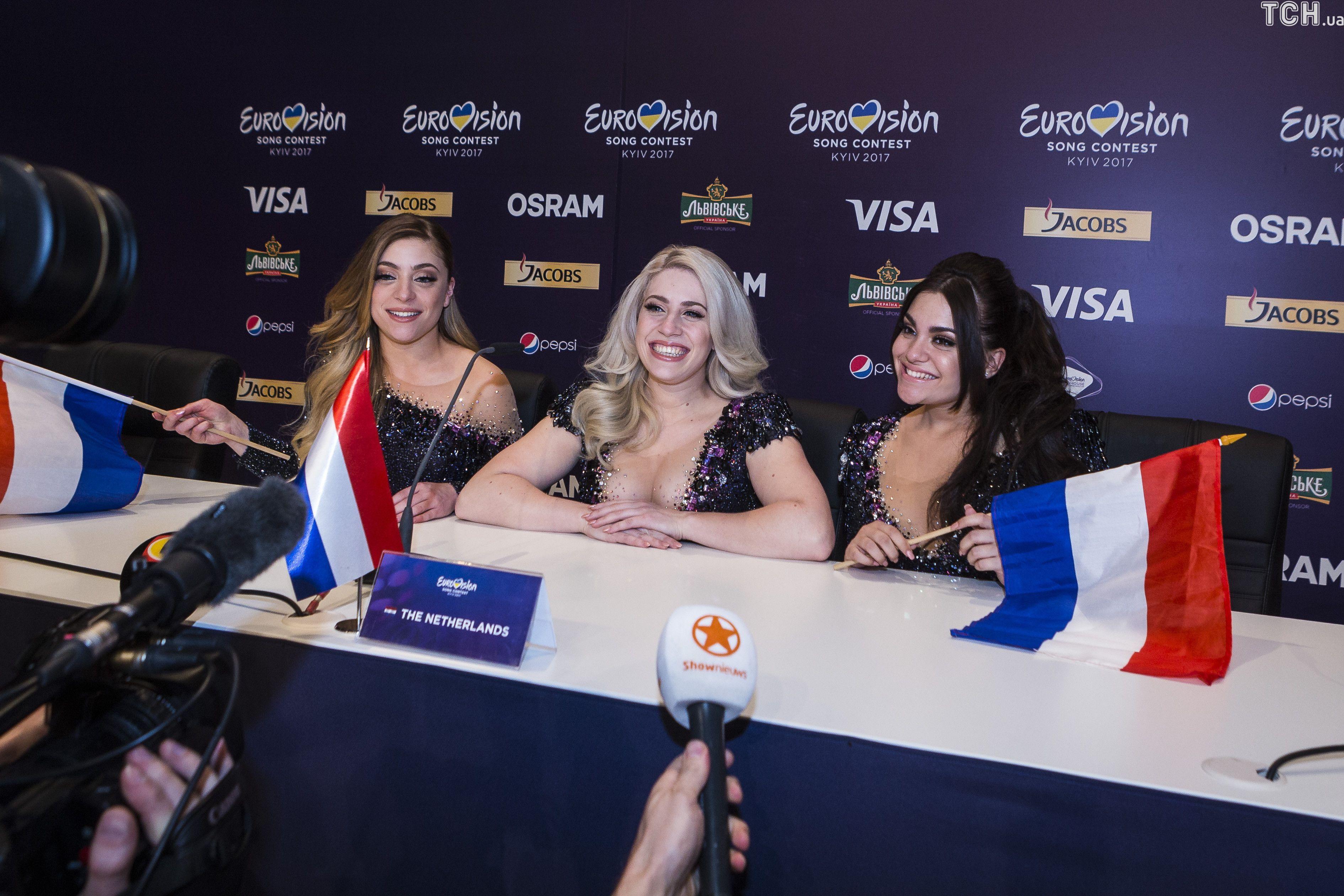 """Прес-конференція фіналістів другого півфіналу """"Євробачення-2017""""_1"""
