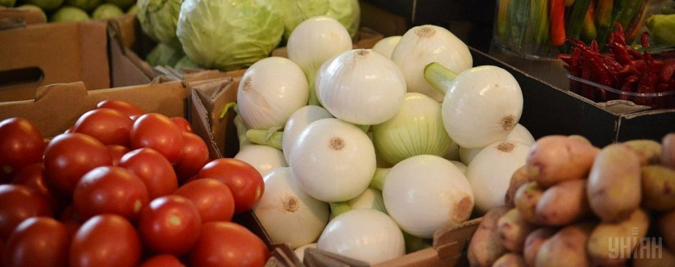 В Украине подешевели овощи из борщового набора. Инфографика
