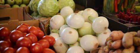 За рік індекс овочевого кошика зріс на 22%. Інфографіка