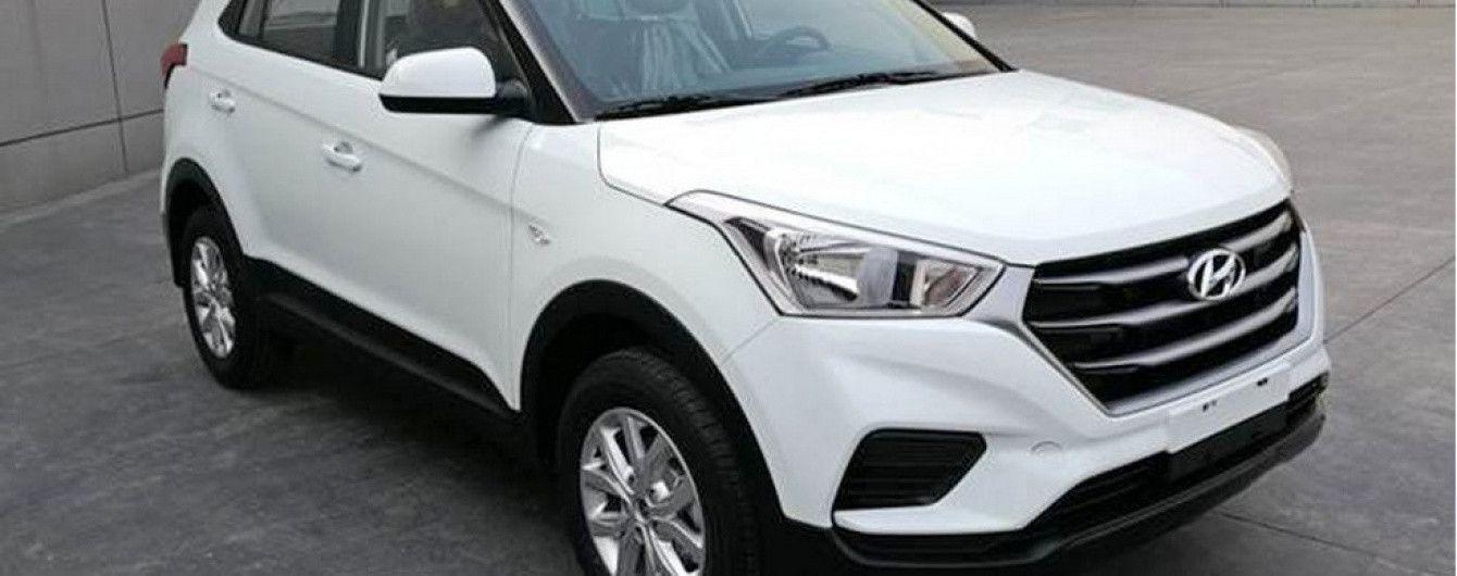 Hyundai готовится вывести на китайский рынок обновленный кроссовер ix25
