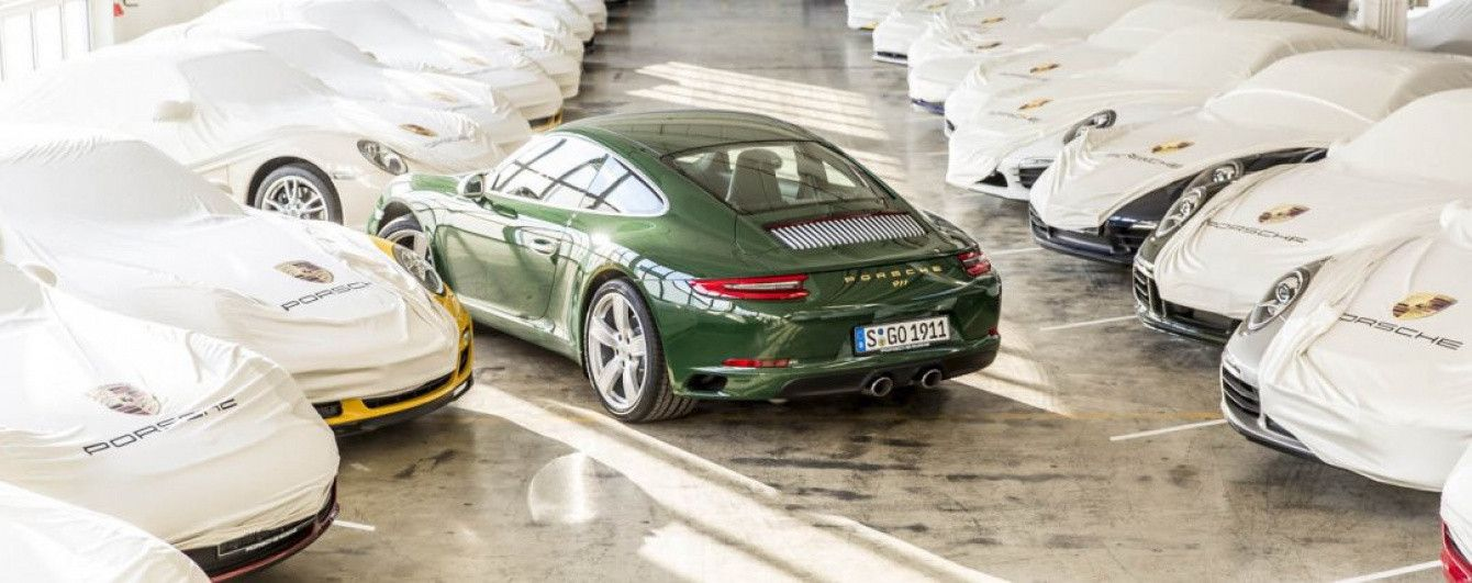 С конвейера сошел миллионный экземпляр спорткара Porsche 911