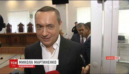 В Апеляційному суді Києва САП вимагає взяття під варту екс-нардепа Мартиненка