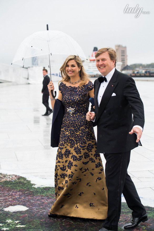 Королева Нидерландов Максима и король Виллем-Александр