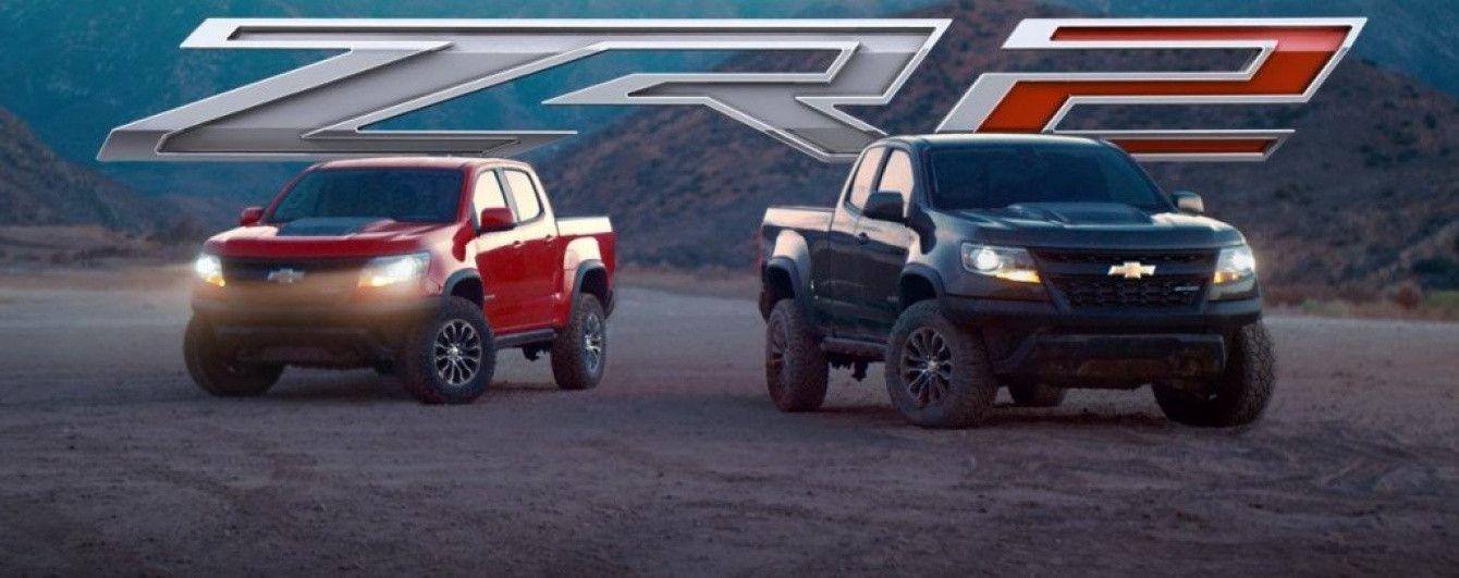 Chevrolet выпустил видео испытаний экстремального пикапа Colorado ZR2
