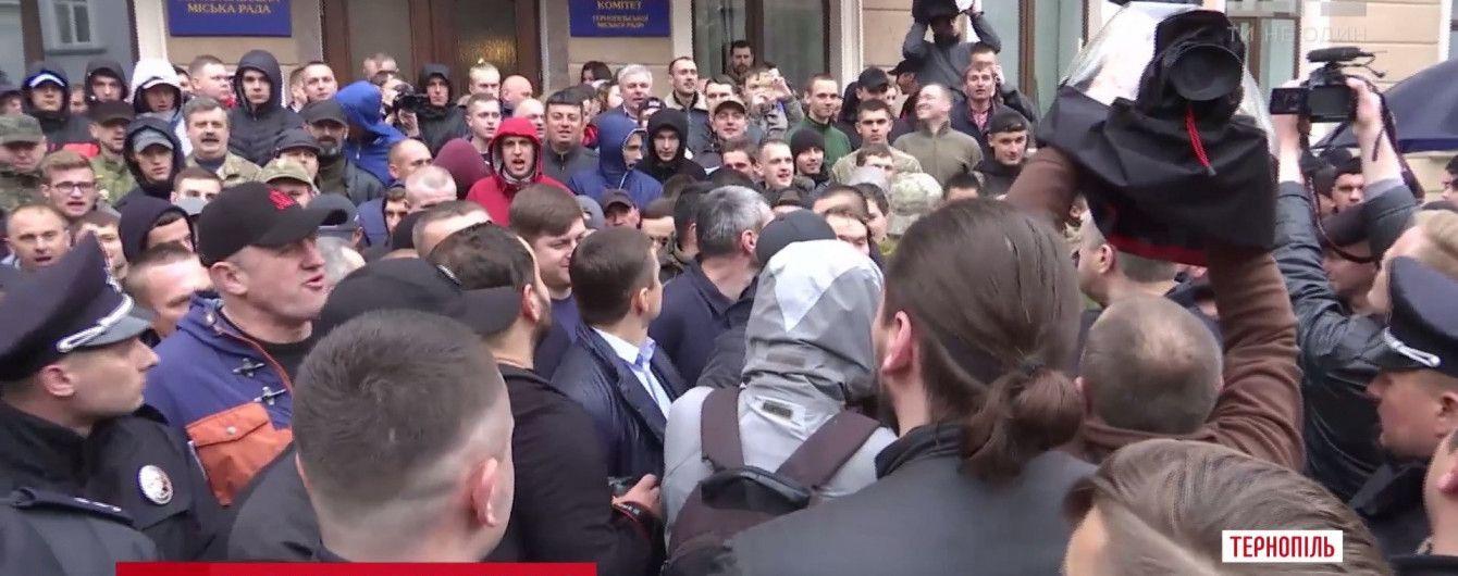 """""""Свобода"""" через внутрипартийный конфликт сорвала сессию горсовета Тернополя"""