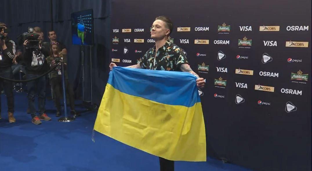 """Подарунок Галичу на прес-конференції """"Євробачення-2017""""_3"""