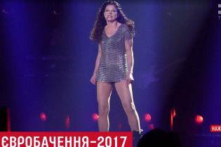 """Руслана примерила 10-килограммовую кольчугу для финала """"Евровидения"""""""