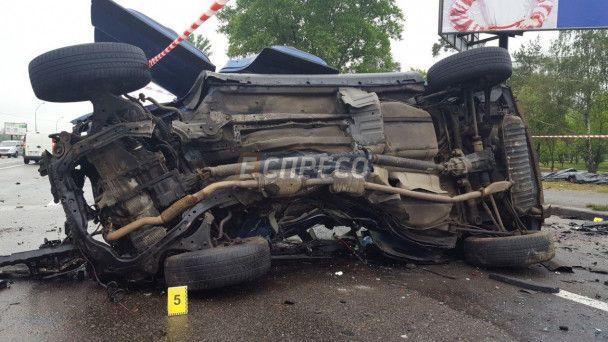 Моторошна ДТП у Києві: загинуло троє людей