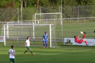 Швейцарский футболист забил невероятный гол бисиклетой в собственные ворота