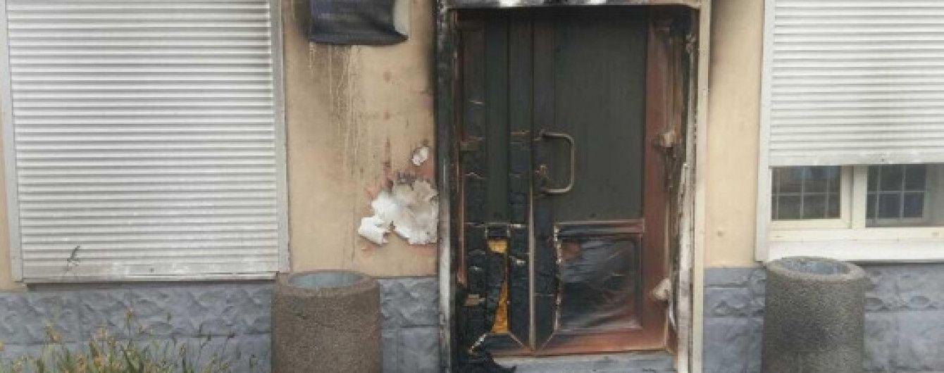 """""""Оппоблок"""" заявил о поджоге еще двух офисов в Днепропетровской области"""
