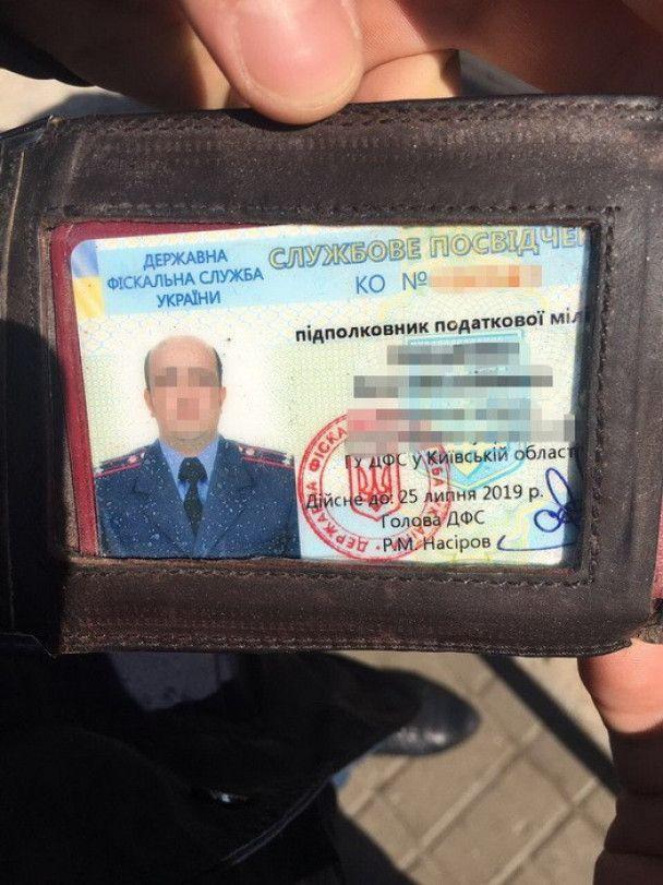 Почти на полумиллионной взятке погорел работник ДФС Киевской области
