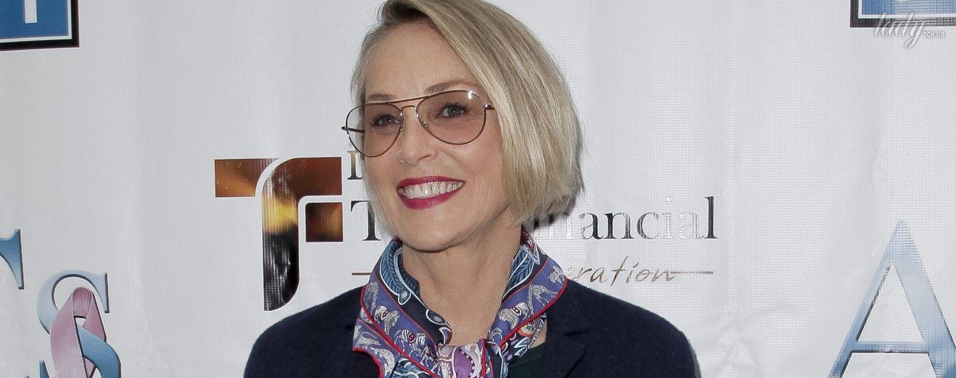 В преддверии Дня матери: Шерон Стоун получила лучшую награду от своих детей