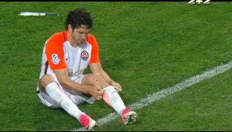Чорноморець - Шахтар - 0:3. Відео другого голу Лещука