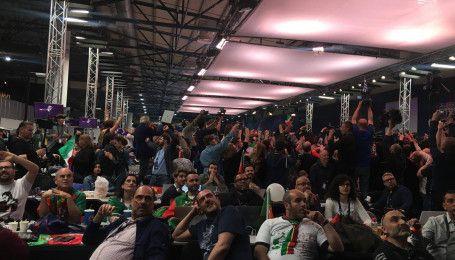 """Финал """"Евровидения-2017"""": как в пресс-центре слушали представителя Италии Франческо Габбани"""