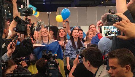 """Финал """"Евровидения-2017"""": как в пресс-центре слушали выступление украинской группы O.Torvald"""