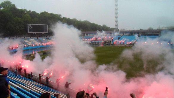 Ультрас Динамо привітали клуб з 90-річчям_2