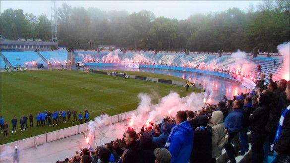 Ультрас Динамо привітали клуб з 90-річчям_1