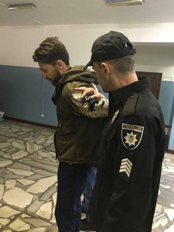 """Аваков показав пранкера Седюка в кайданках: """"чинив опір під час затримання"""""""