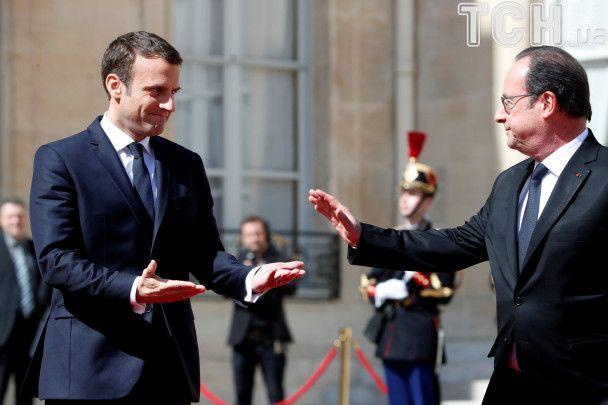 Макрон официально вступил в должность президента Франции