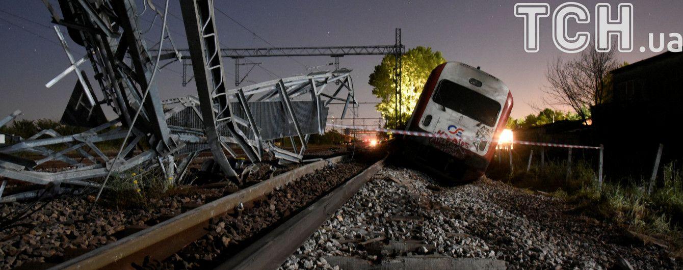 Среди пострадавших в катастрофе поезда в Греции нет украинцев