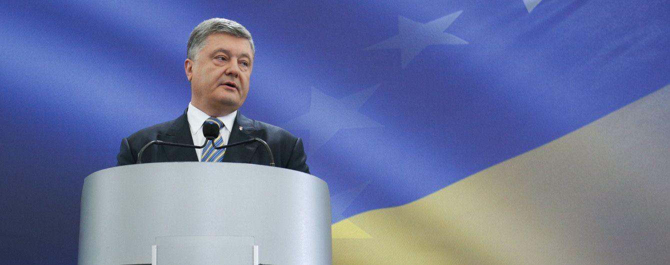 Порошенко будет инициировать продление санкций Евросоюзом против России на год