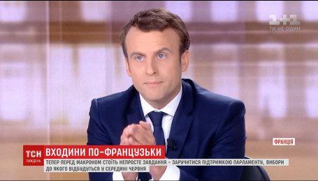 Эммануэль Макрона официально стал самым молодым в истории президентом Франции