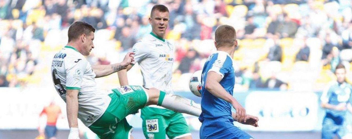 """Камбек """"левів"""". """"Карпати"""" перемогли """"Дніпро"""", поступаючись 0:2"""