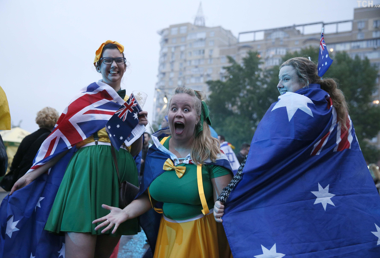 австралійські фани, євробачення