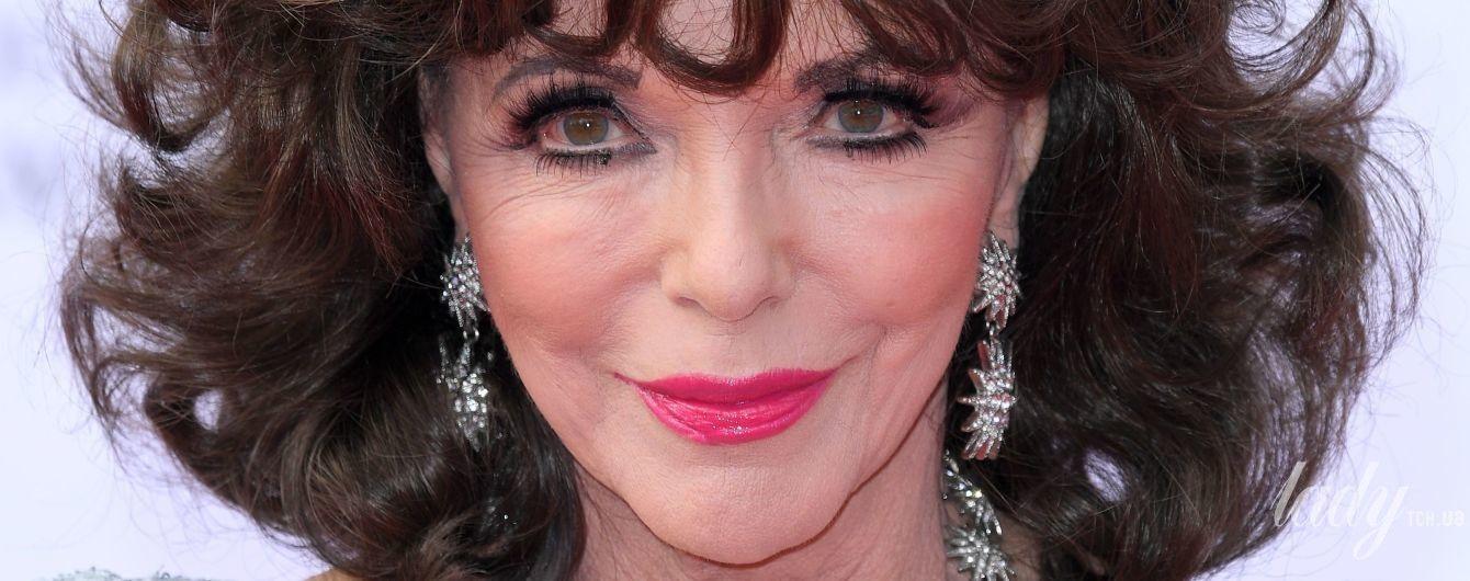 Еще ого-го: 83-летняя Джоан Коллинз в роскошном образе блистала на красной дорожке