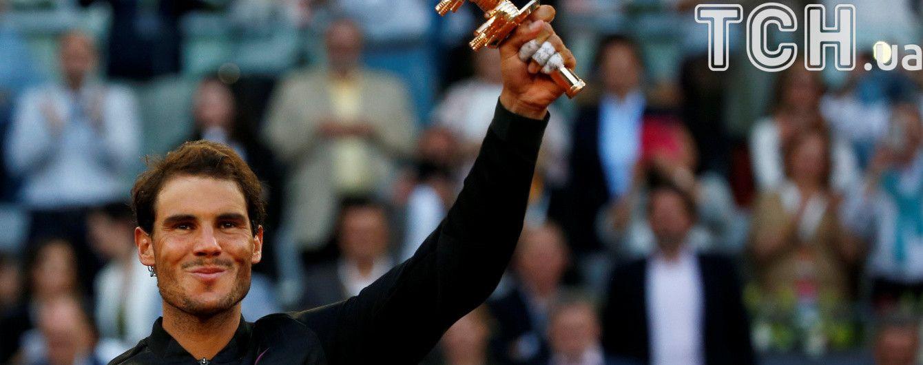 Надаль подвинул Федерера в рейтинге лучших теннисистов, Долгополов потерял две позиции