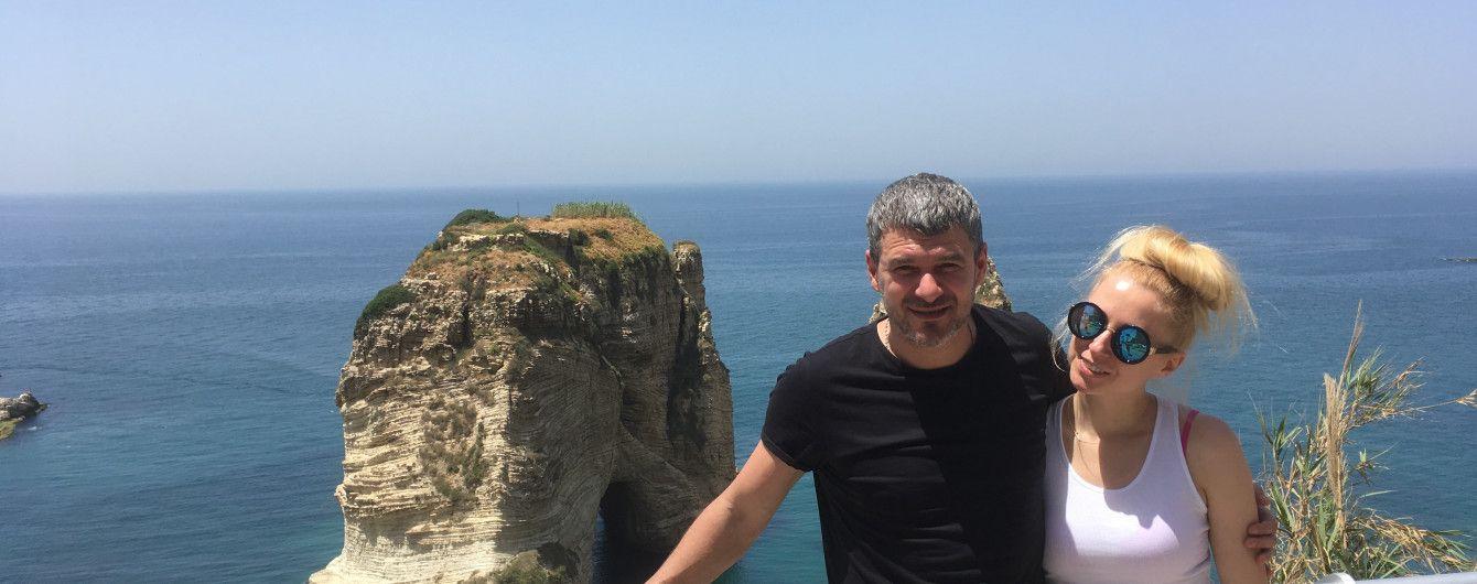 Влюбленные Арсен Мирзоян и Тоня Матвиенко поделились романтическими фотографиями из Ливана