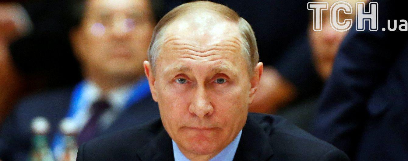 """Путин заявил, что украинская власть не способна проводить мероприятия уровня """"Евровидения"""""""