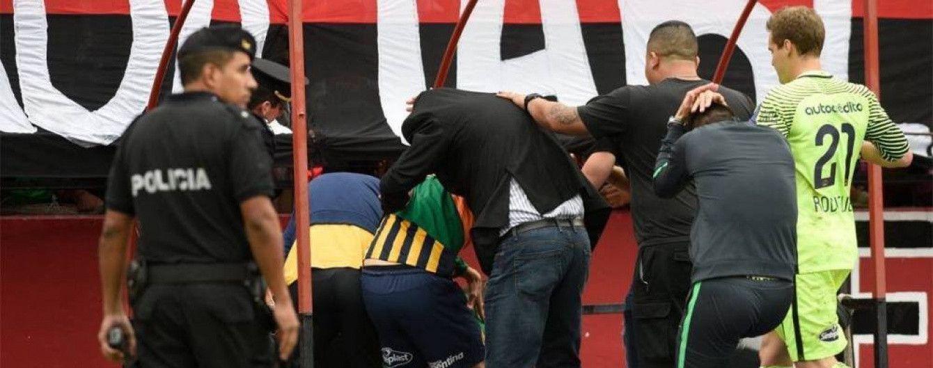 В Аргентине фанат застрелил поклонника соперника прямо во время матча