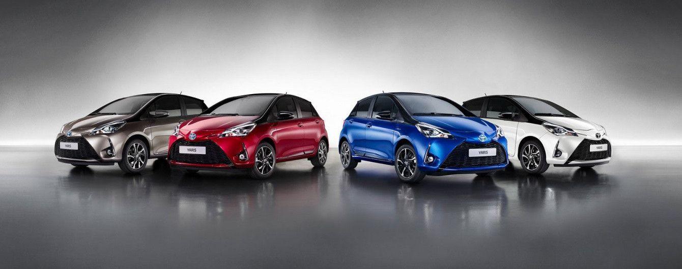 Новый Toyota Yaris выходит на украинский рынок