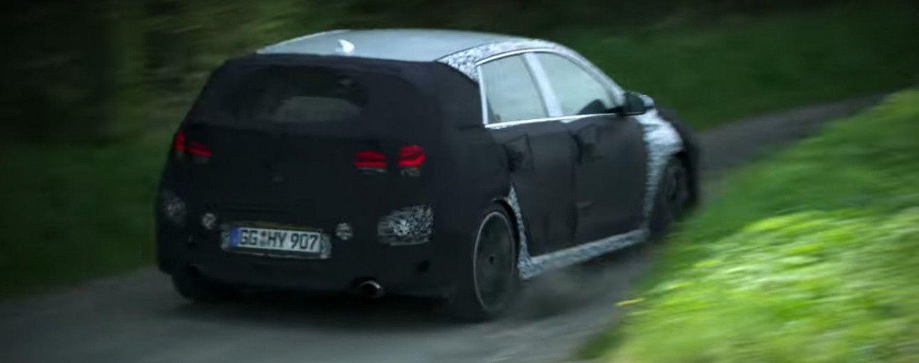 Hyundai протестировал на дорогах общего пользования спортивный хэтчбек i30 N