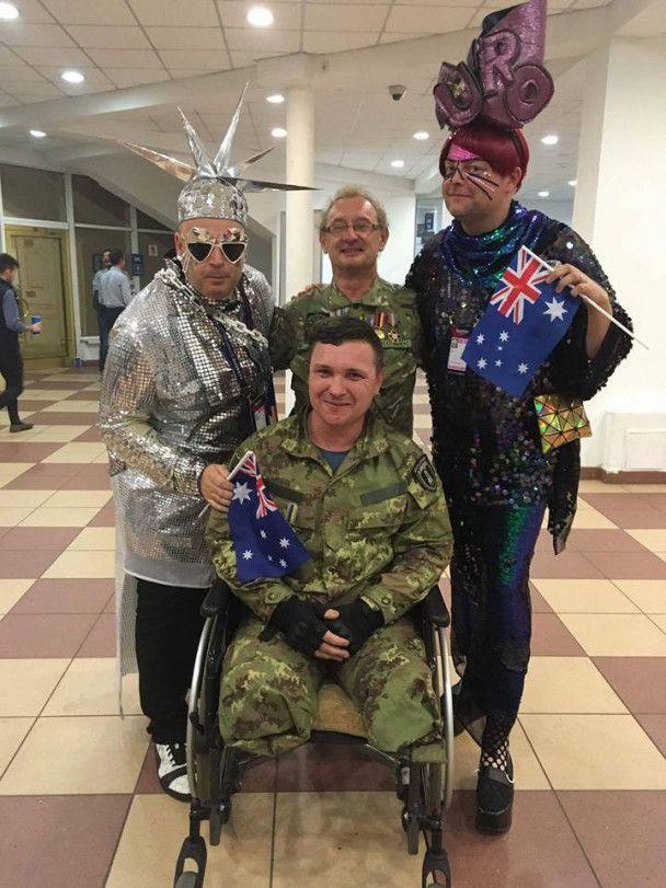 Благодаря ветерану АТО десять украинских воинов попали на финал Евровидения