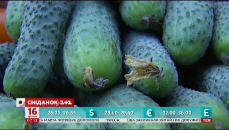 В Україні дешевшають тепличні овочі