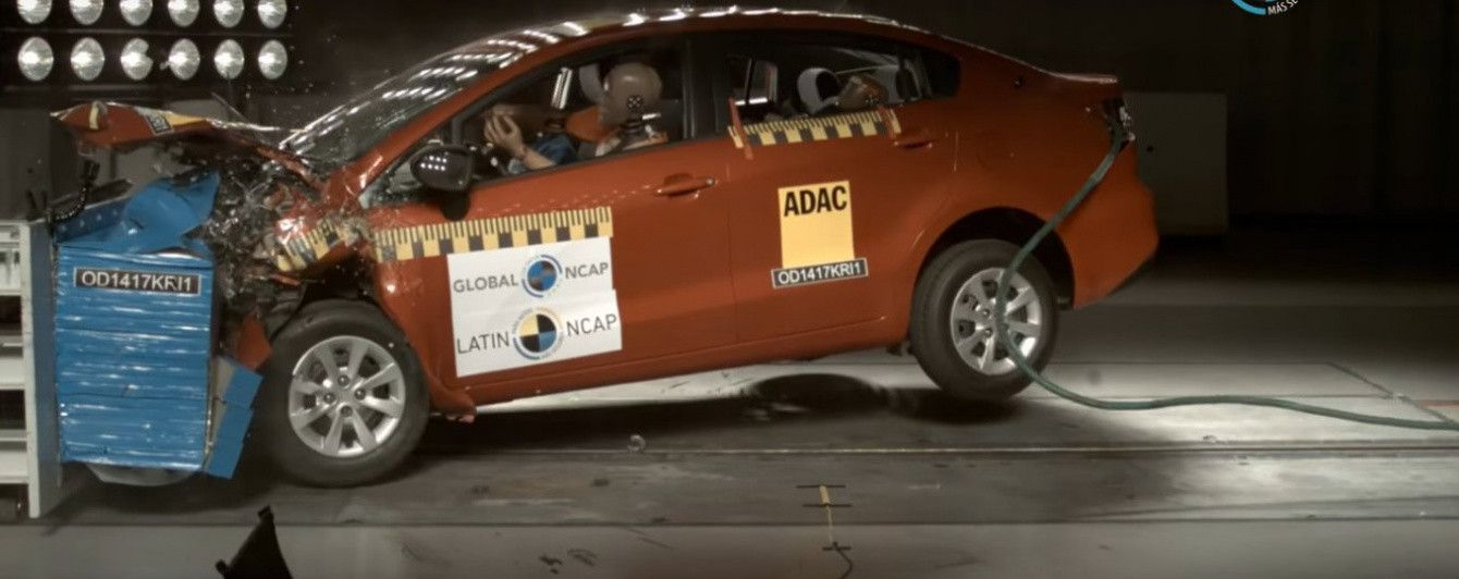 Kіа Rio провалил краш-тест Latin NCAP